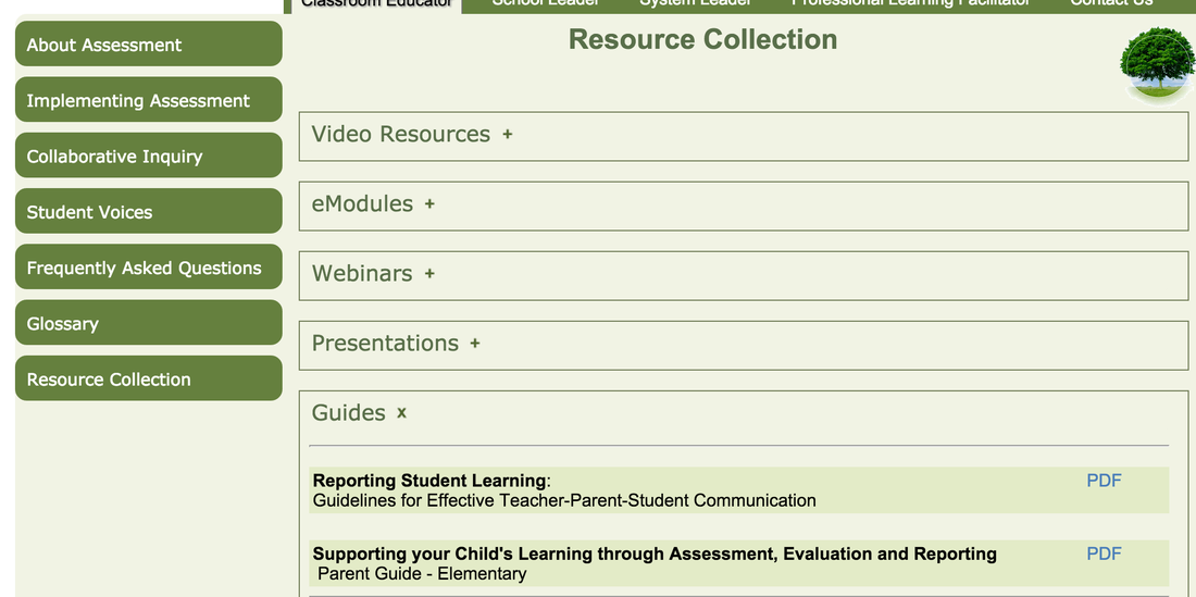 link to Edugains assessment site